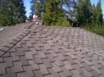 New Roof with 3D Architectural Shingles